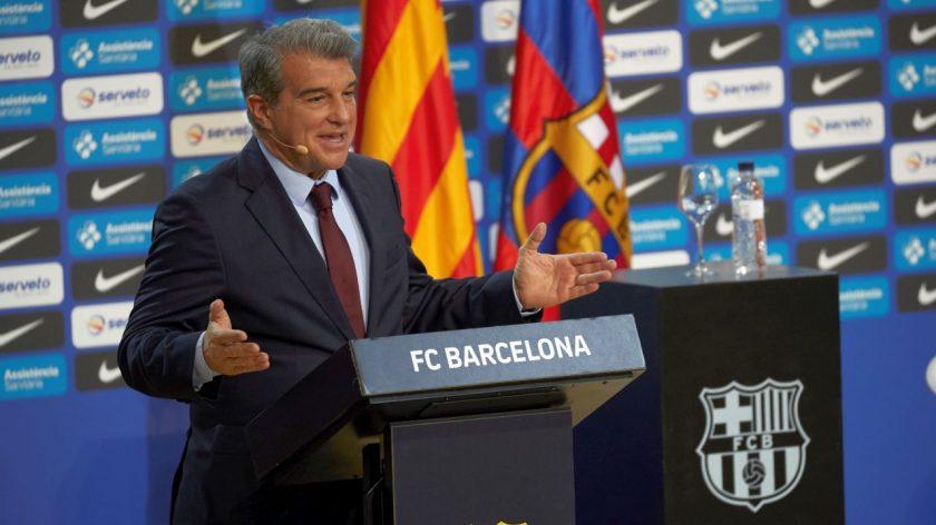 Joan Laporta Barcelona President