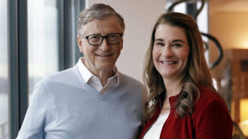 Ο Μπιλ Γκέιτς και η Μελίντα Γκέιτς