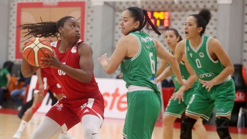Ολυμπιακός-Παναθηναϊκός-Μπάσκετ-Γυναίκες