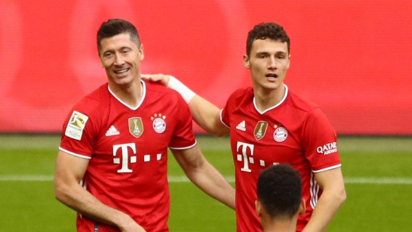 Bayern Lewandowski Pavard