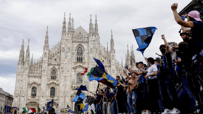 INTER SCUDETTO FESTIVITIES MILAN
