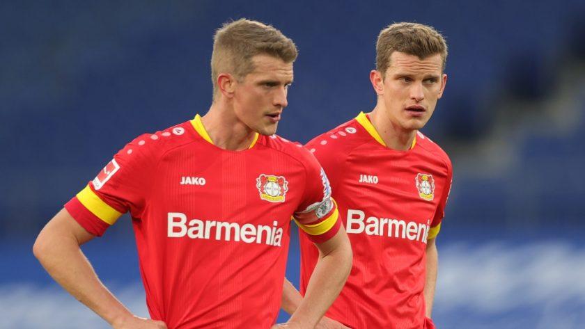 Lars and Sven Bender Leverkusen