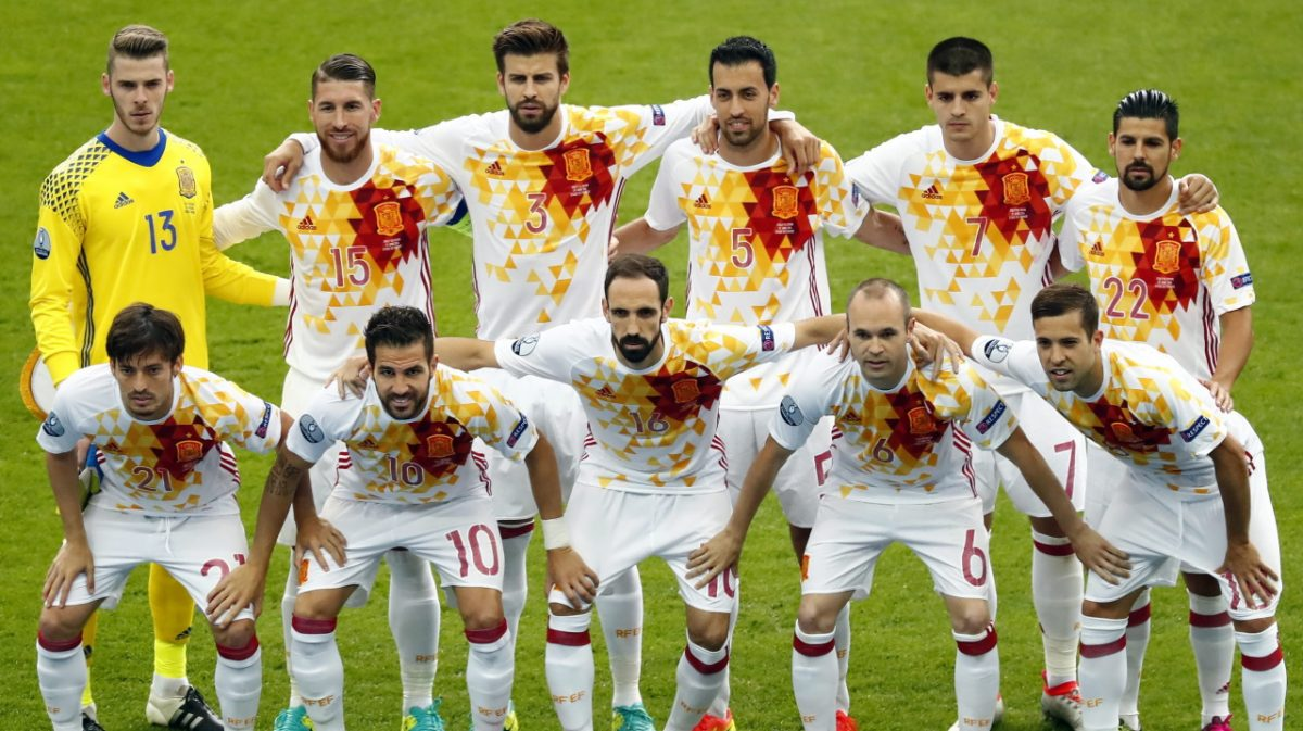 SPAIN TEAM 2016