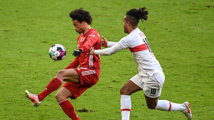 Sane vs Didavi Bayern vs Stuttgart
