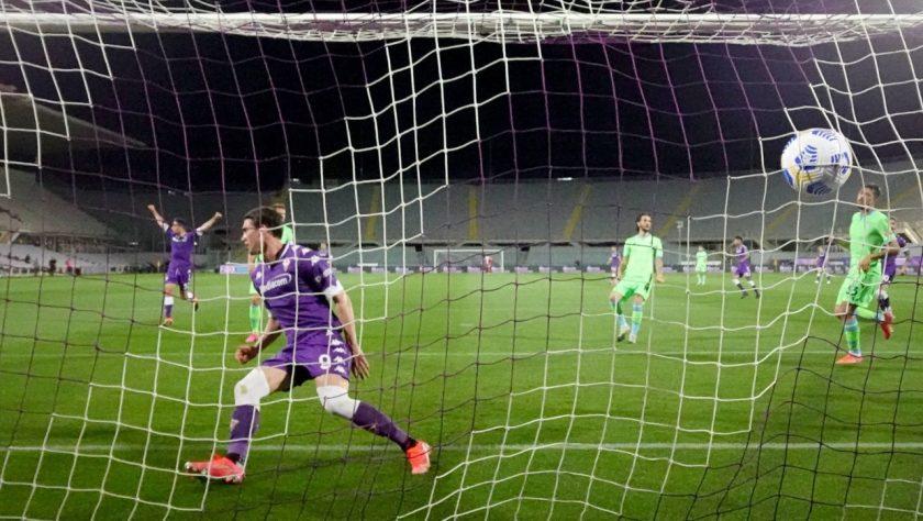 Vlahovic goal fiorentina