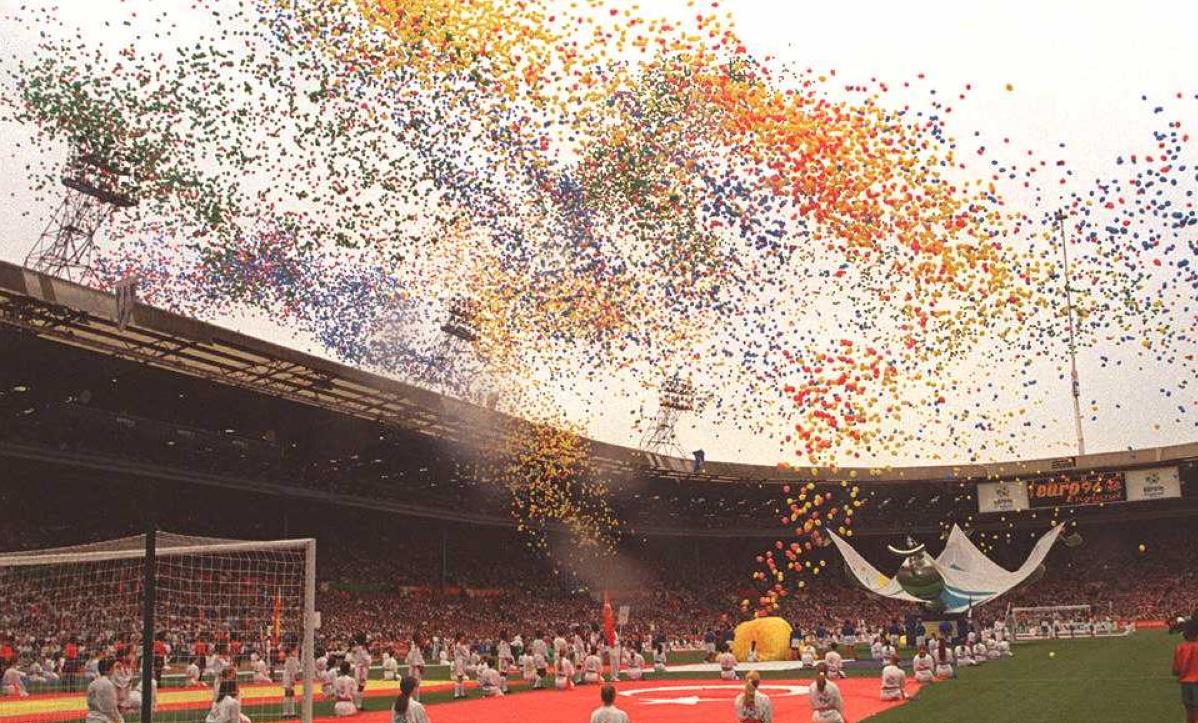ENGLAND EURO 1996