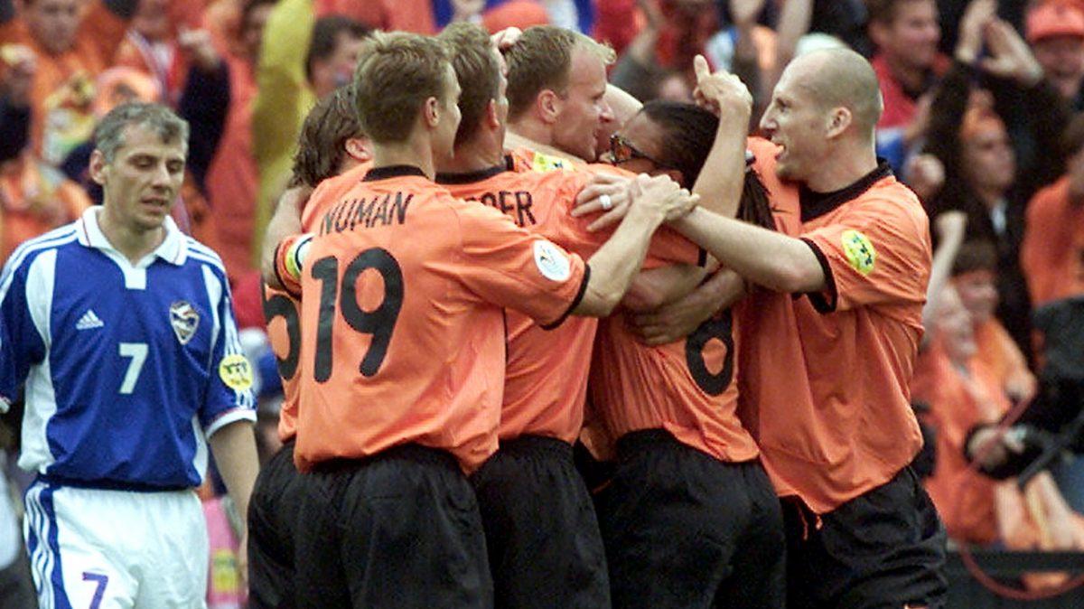EURO 2000 HOLLAND VS JUGOSLAVIA