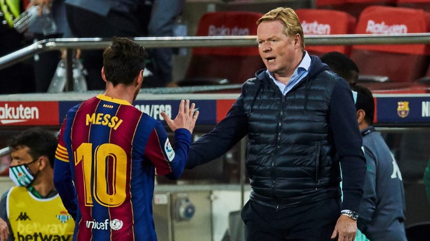 Koeman and Messi