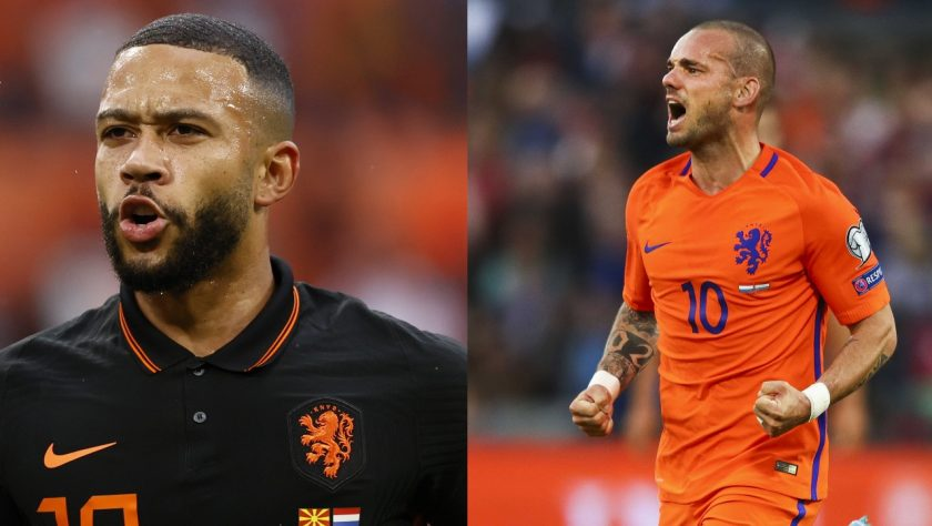 depay and sneijder