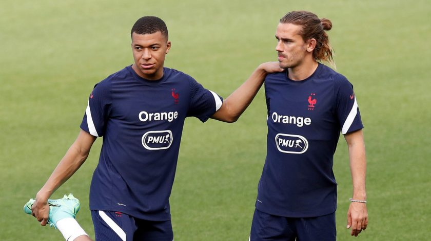 mbappe and griezmann_ Εμπαπέ και Γκριεζμάν