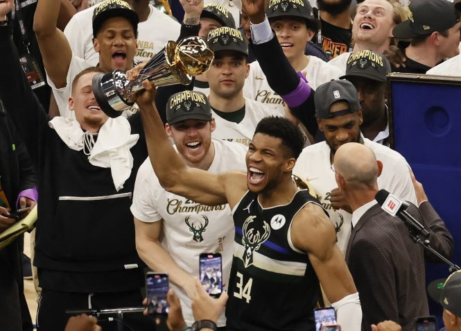 GIANNIS NBA CHAMPION