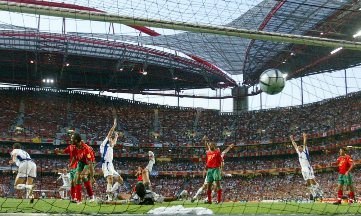 HARISTEAS GOAL EURO 2004 FINAL