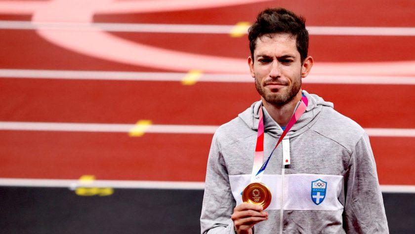 Μίλτος-Τεντόγλου-Μετάλλιο