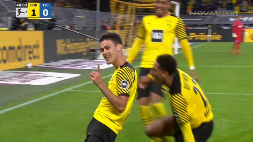 Giovanni Reyna scored