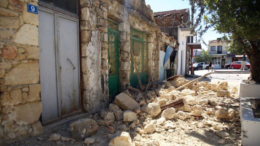 Σεισμός-Κρήτη