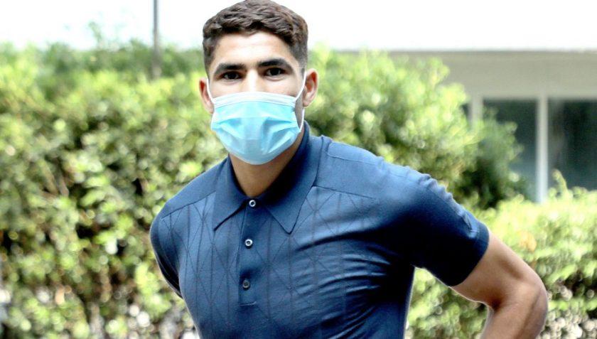 Hakimi tests positive for Coronavirus