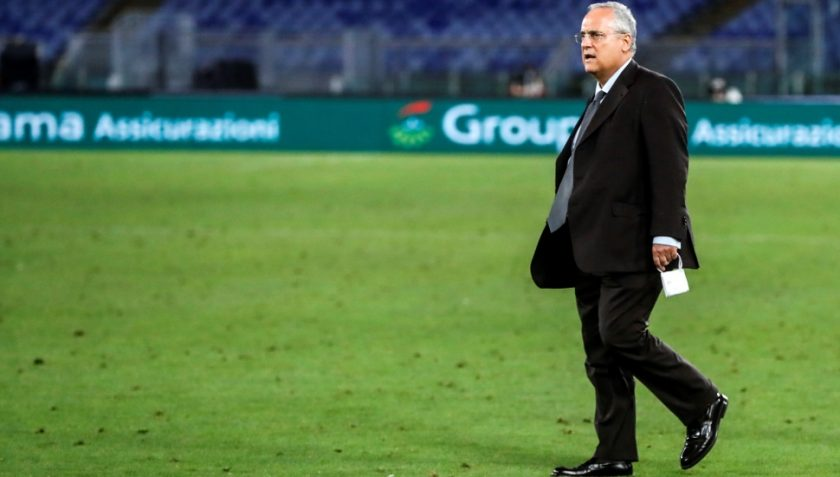 Lotito Lazio Salernitana
